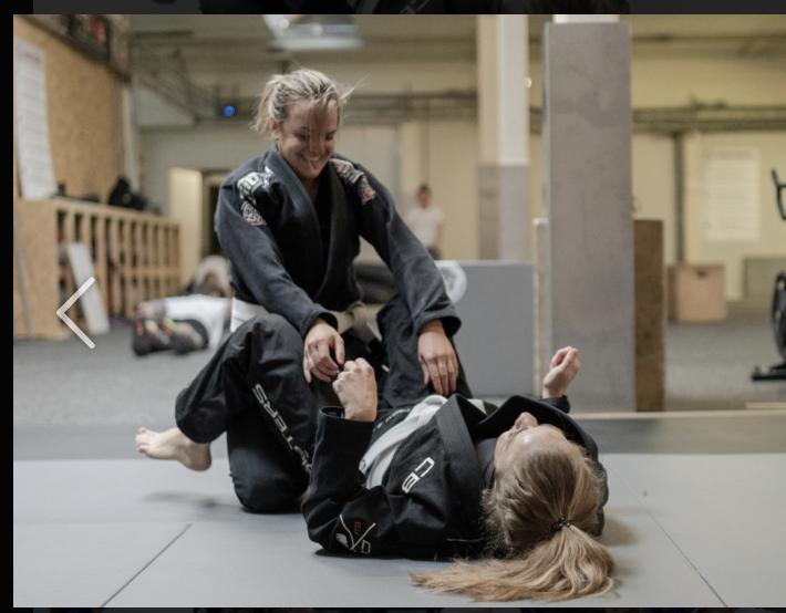 vrouw en zelfverdediging